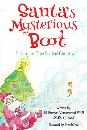 Book Cover for Santa's Mysterious Boot