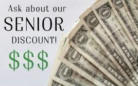 Senior Discounts for Meals