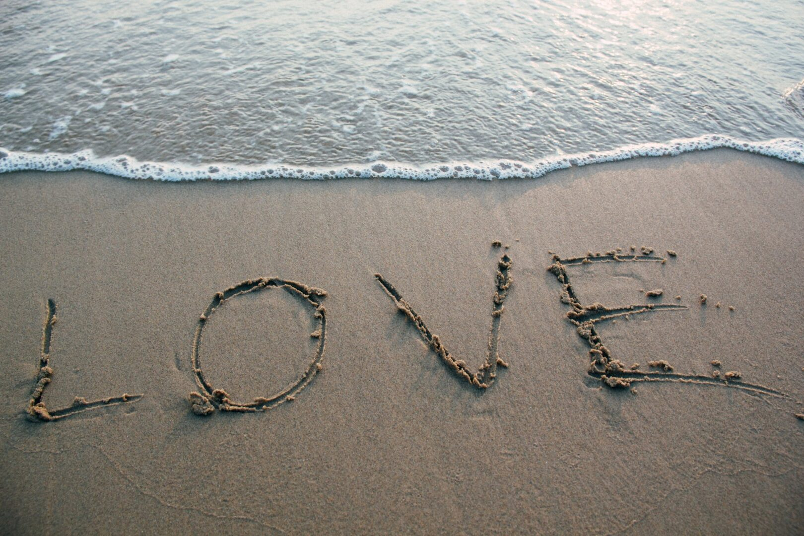 Love in the sand--is this really love?
