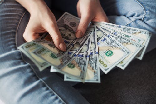 Woman Handling Money-More thoughts on Money Matters
